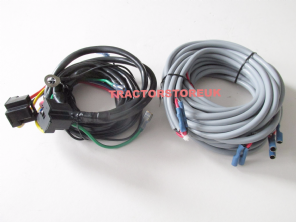 MASSEY FERGUSON 135 165 LIGHTING WIRING LOOM & DIAGRAM